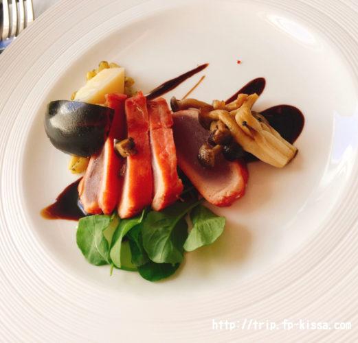 ビジネスクラス洋食の前菜