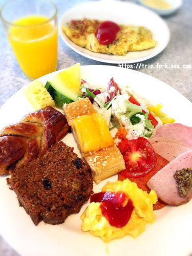 朝食バイキングのメニュー