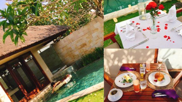 ハネムーンにおすすめ【バリ島高級ホテル】ザ・バレは極上空間。旅行記