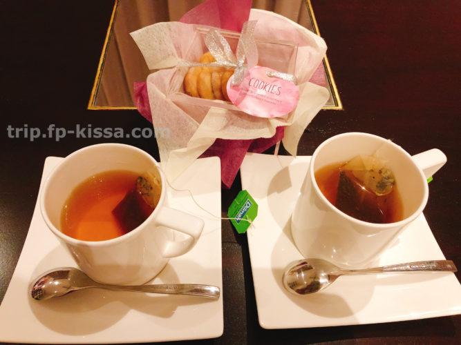 フュージョンマイアダナンのホームメイドクッキーと紅茶