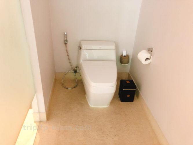 フュージョンマイアダナンの部屋のトイレ