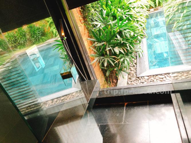 フュージョンマイアダナンの室内のシャワースペース
