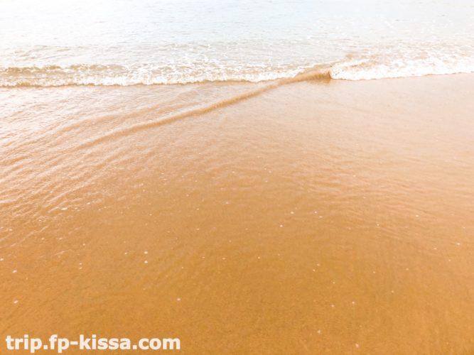 フュージョンマイアダナンの海の透明度