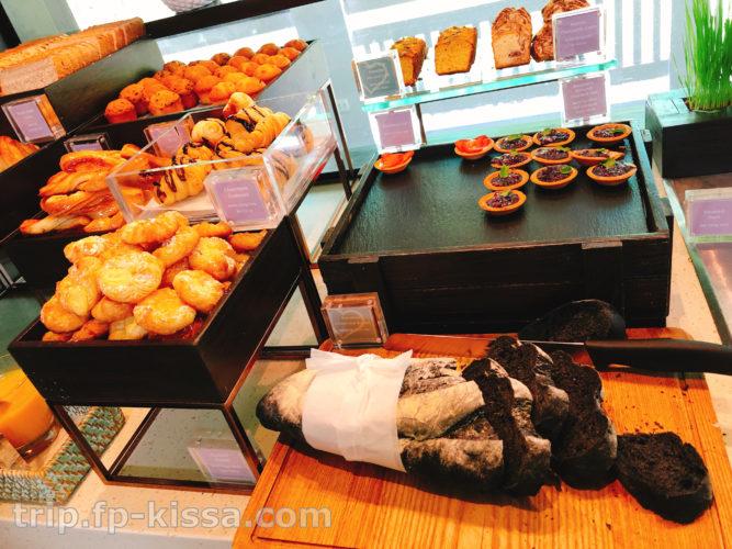 フュージョンマイアダナンの朝食ビュッフェのパン