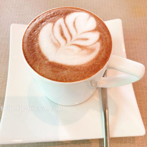 フュージョンマイアダナンの朝食のホットチョコレート