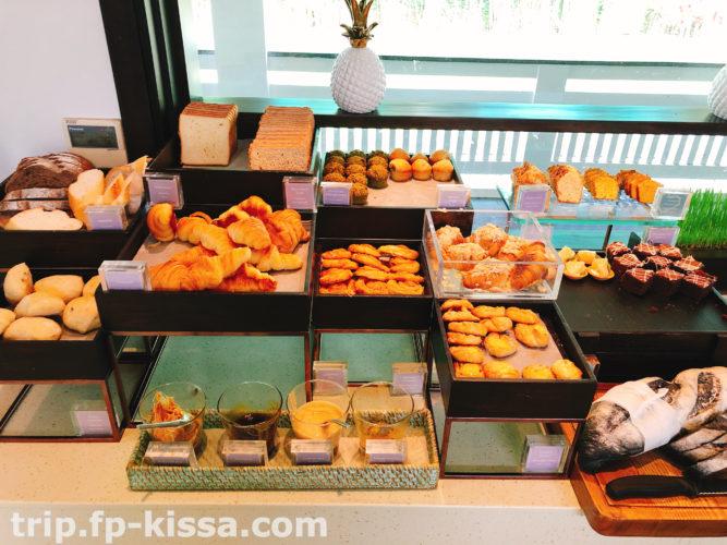 フュージョンマイアダナンの朝食のパン